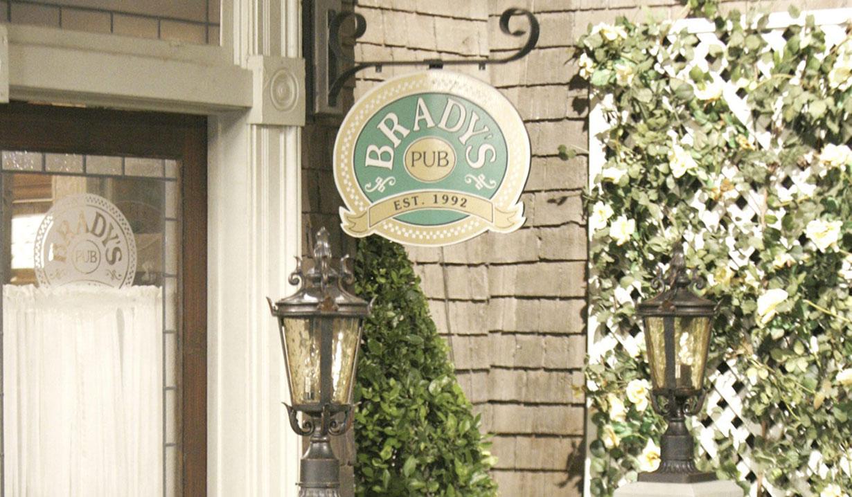 Brady's pub days of our lives