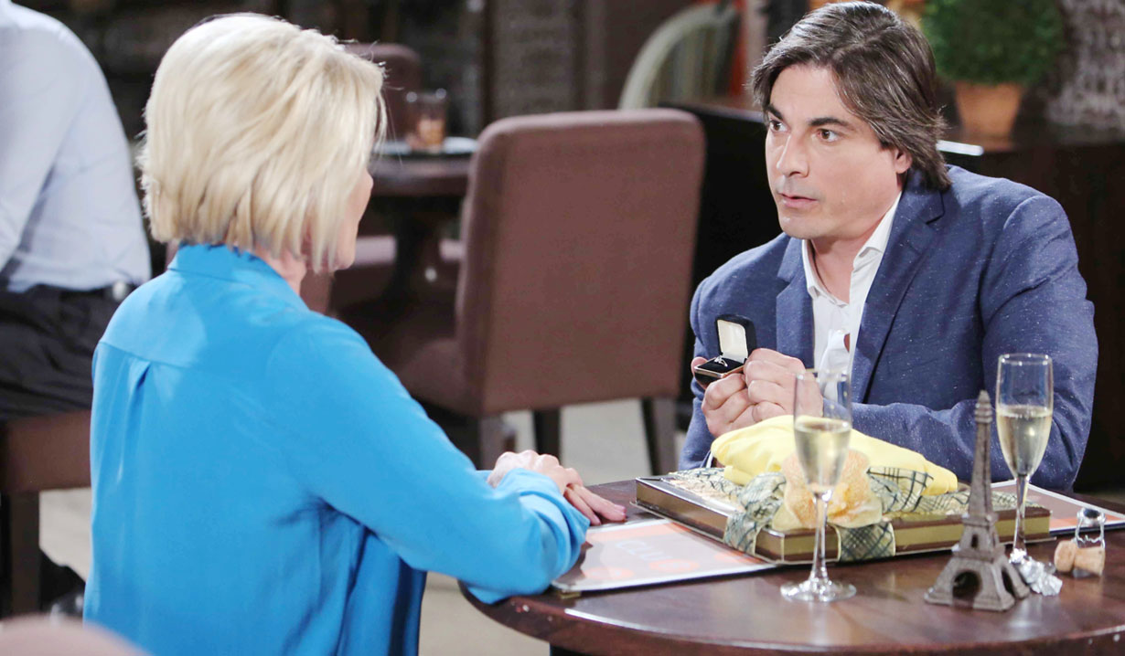 Lucas proposes to Adrienne Days of our Lives