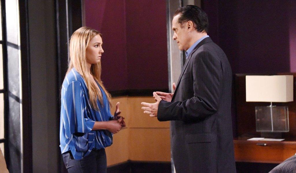 sonny tells kristina about parker GH
